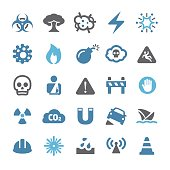 Danger Warning Icons - Qual Series