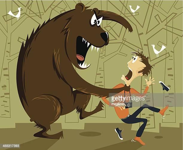 dangerous adventure. - tv reporter stock illustrations, clip art, cartoons, & icons