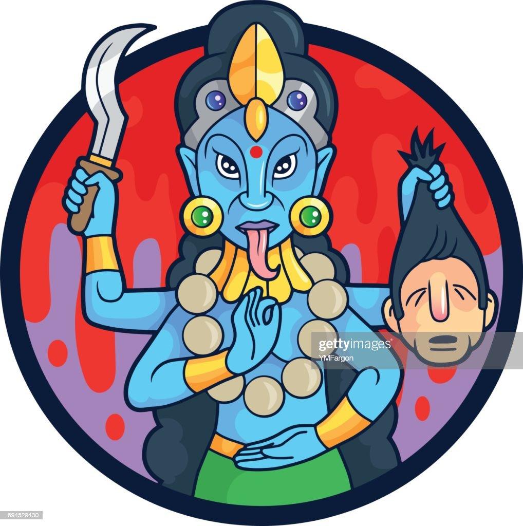 Dangerous goddess Kali
