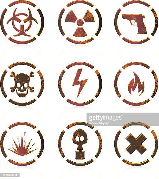 Dangerous icons (animals)