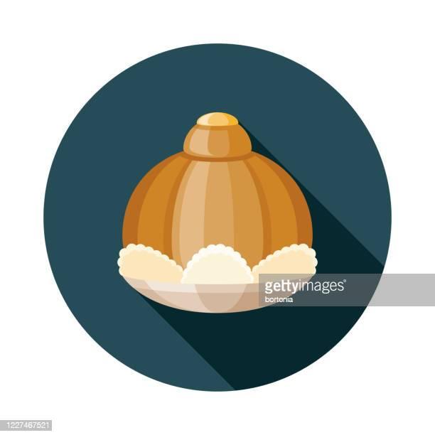 ダラトンタイの食品アイコン - ジャスミン点のイラスト素材/クリップアート素材/マンガ素材/アイコン素材