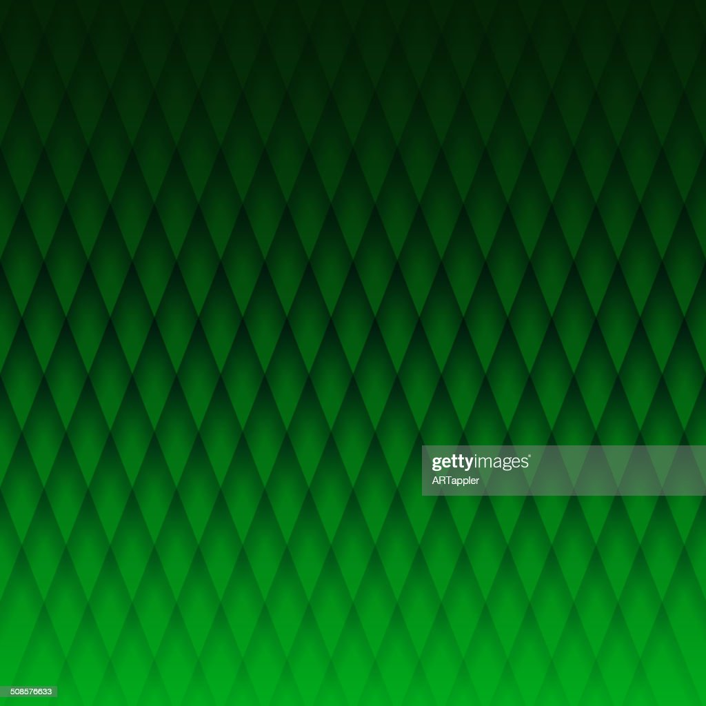 Darc green geometric fabric pattern : Vector Art