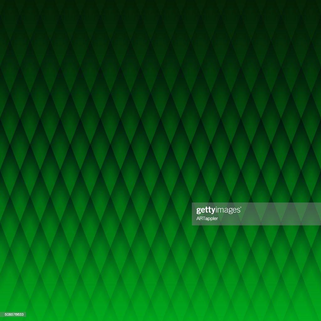 Darc verde tessuto con motivo geometrico : Arte vettoriale