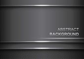 Dark abstract background.Abstract metallic black.Background carbon