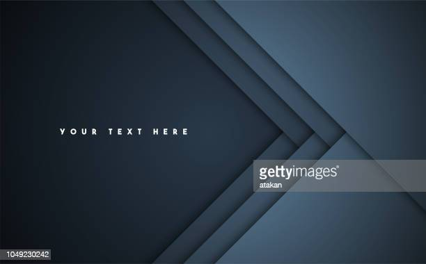 dark abstract vector background - copy space stock illustrations