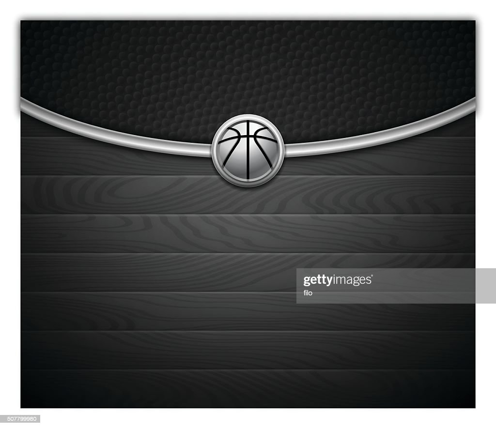 Dark Basketball Background