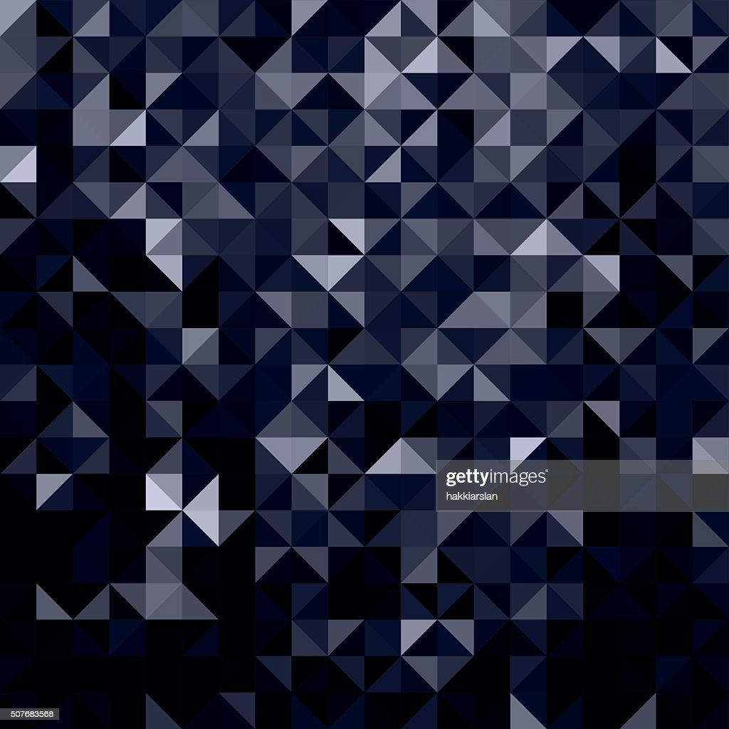Dark black geometric shapes abstract background