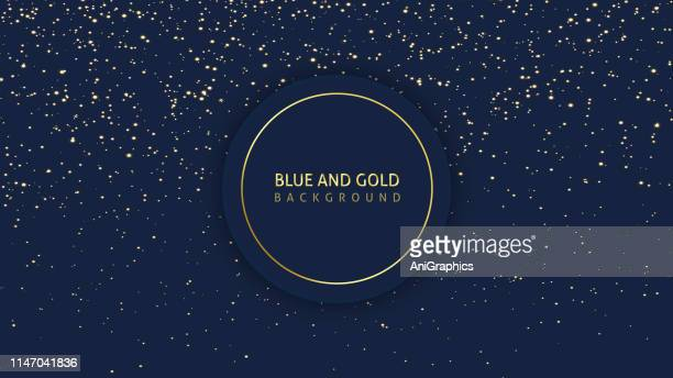 dark blue glitter background - space and astronomy stock illustrations