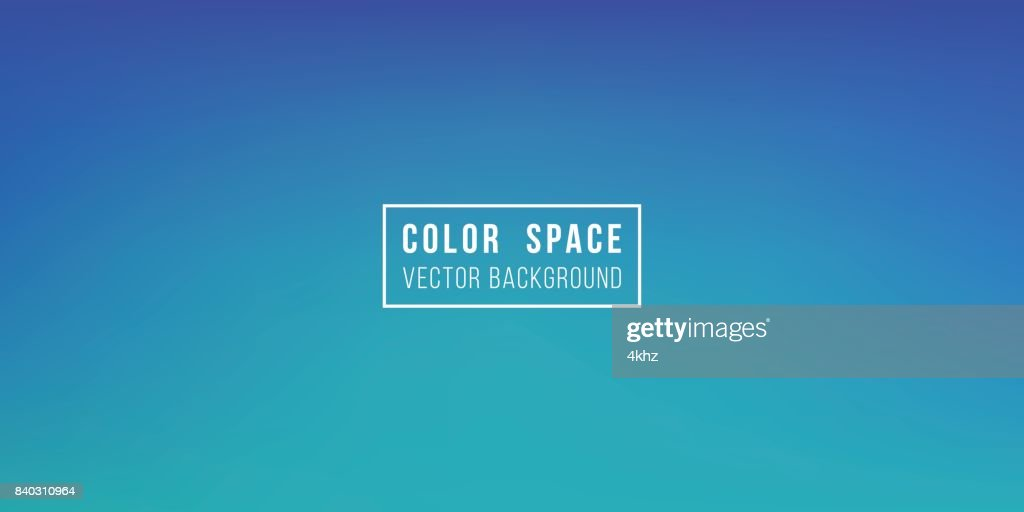 Dark Blue Soft Color Space Defocus Smooth Gradient Background