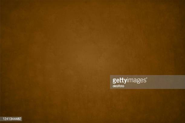 dark brown color crumpled paper textured vector illustration - brown background stock illustrations