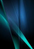 Dark deep blue abstract shiny background