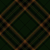 Dark Green Scottish Tartan Plaid Textile Pattern