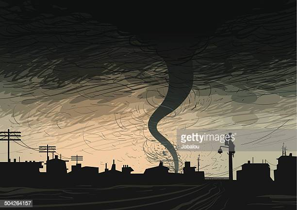 dark hurricane - overcast stock illustrations, clip art, cartoons, & icons