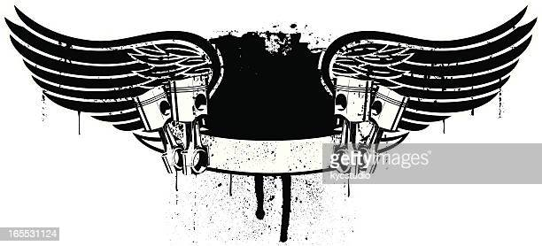dark racing banner - rally car racing stock illustrations, clip art, cartoons, & icons