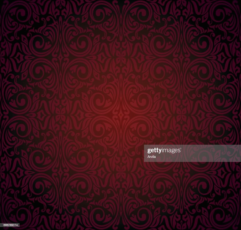 Dark red brown wallpaper vector background