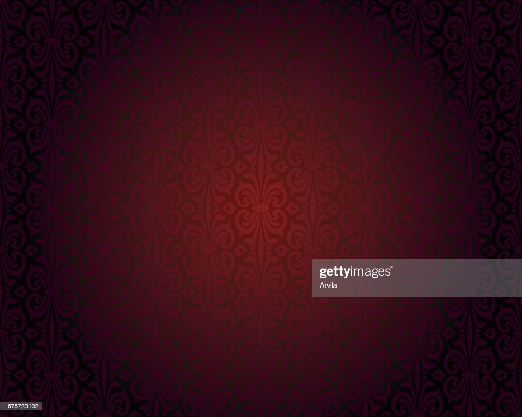 Dark red wallpaper repeatable gradient vector background