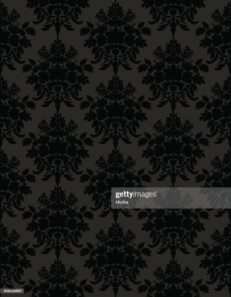 Dark retro seamless background.