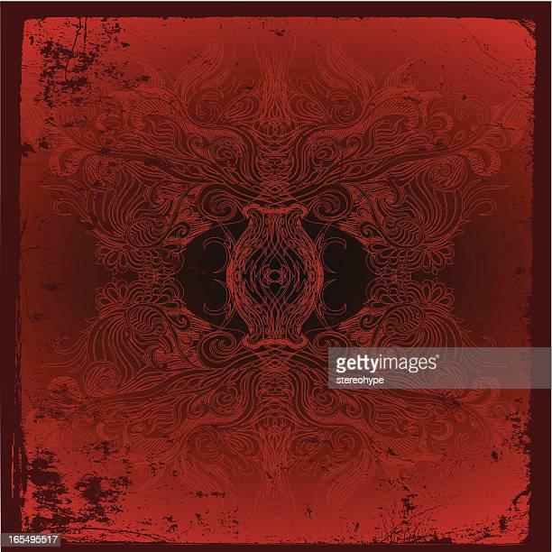 dark secrets - inferno stock illustrations, clip art, cartoons, & icons