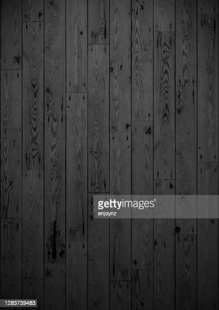 stockillustraties, clipart, cartoons en iconen met donkere bevlekte houten raad - zwarte kleur