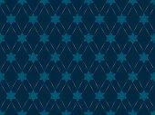 Dark Star Pattern (vector)