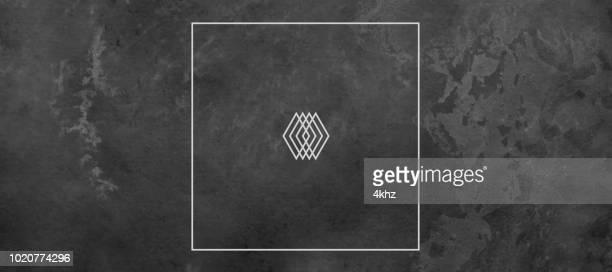 Dark Vignette Texture Background