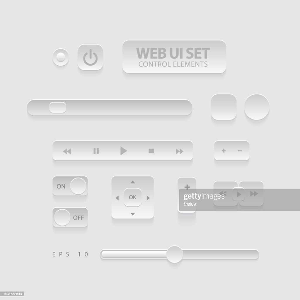 Dark Web UI Elements