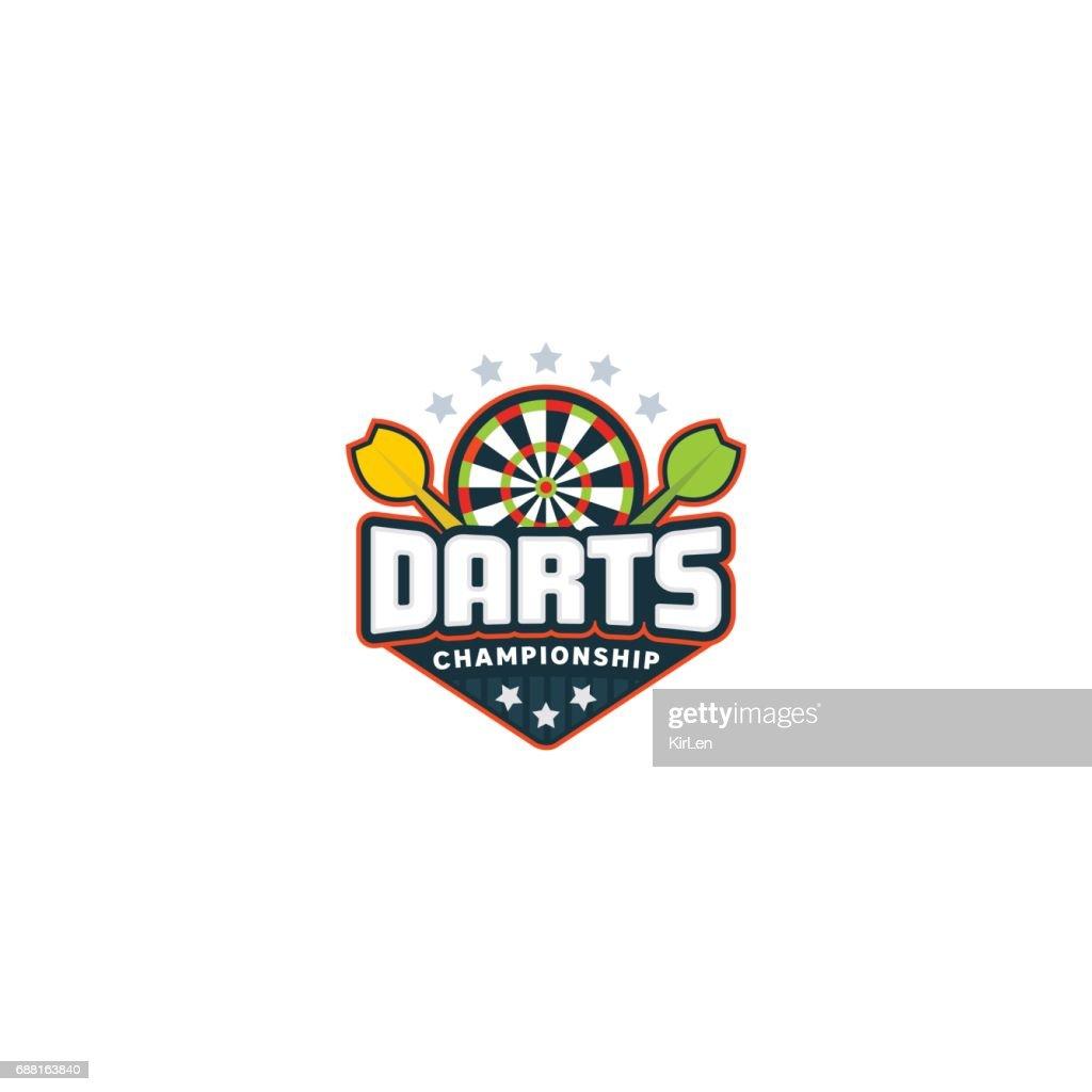 Darts badge