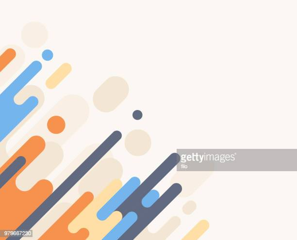 dash abstract background - beige stock illustrations