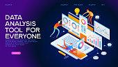 Data analysis tool Web Banner