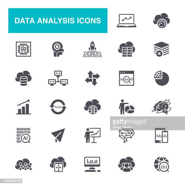 Data and Infographics Icons