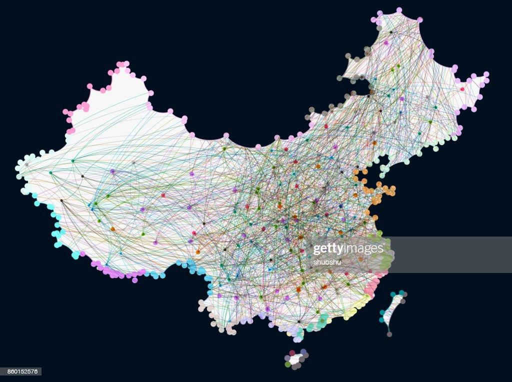 data China : stock illustration