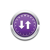 Data Circular Vector Purple Web Icon Button