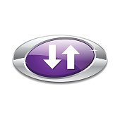 Data Elliptical Vector Violet Web Icon Button