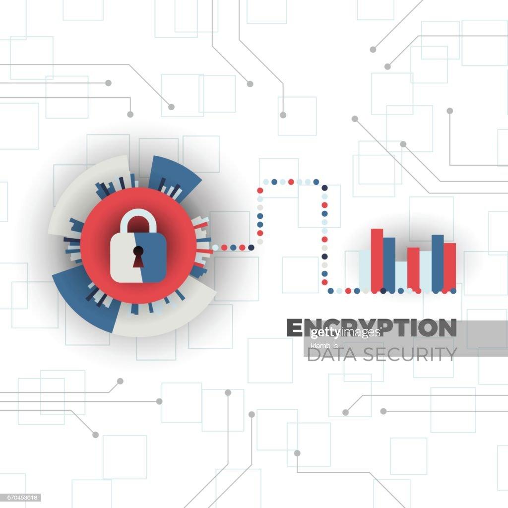 Data encryption concept