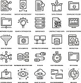 Data Management Icons
