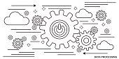 Data processing vector concept