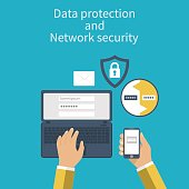 Data protection and Network security.