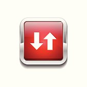Data Rounded Rectangular Vector Red Web Icon Button