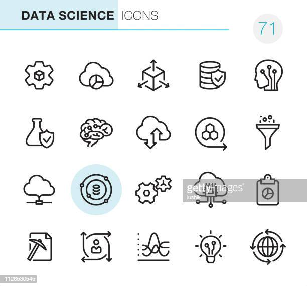 Data Science - Pixel Perfect icons