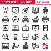Data & Technology Icons