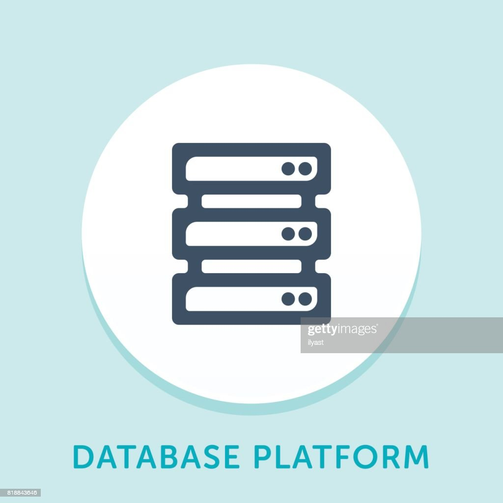 Database Curve Icon