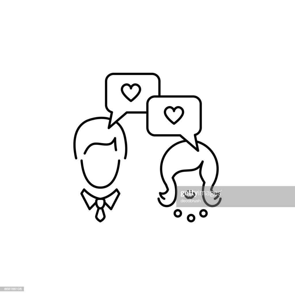 Dating dialogue