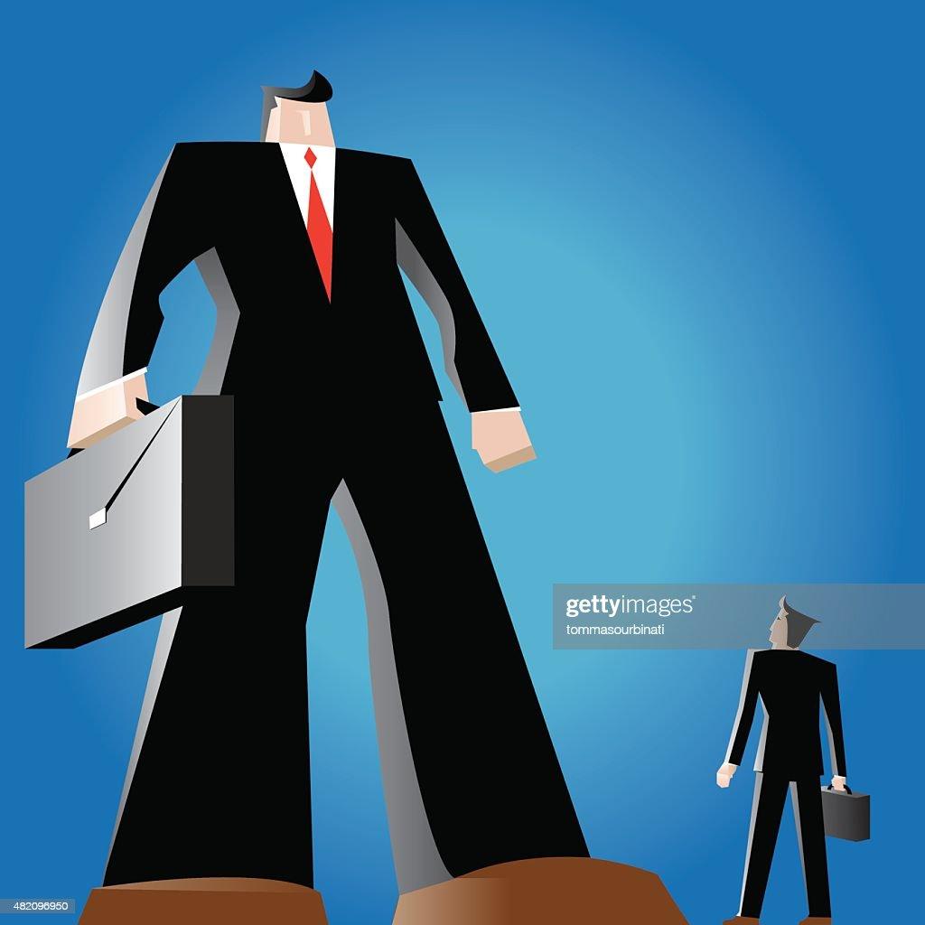 David vs Goliath business competition