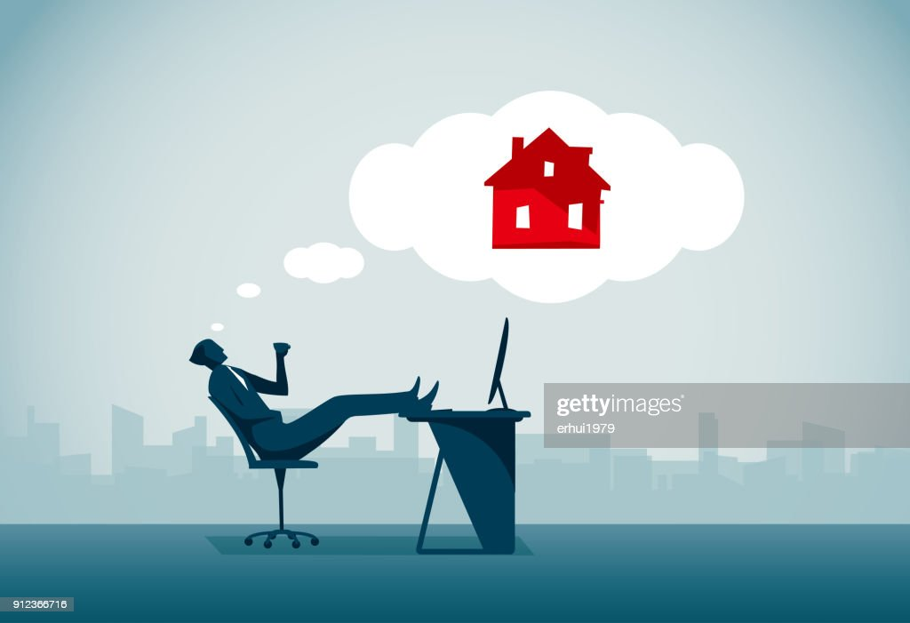 Day Dreaming : stock illustration