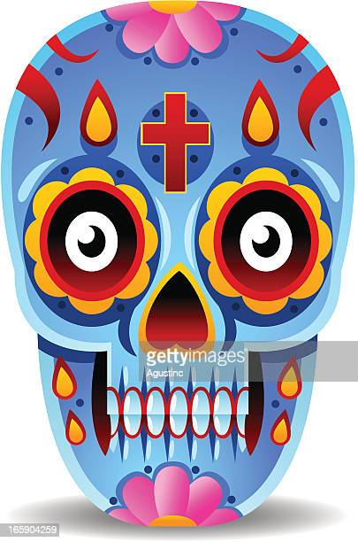 Day of The Dead Mexican Skull
