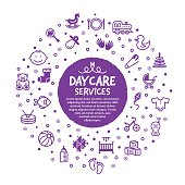 Daycare Services Poster