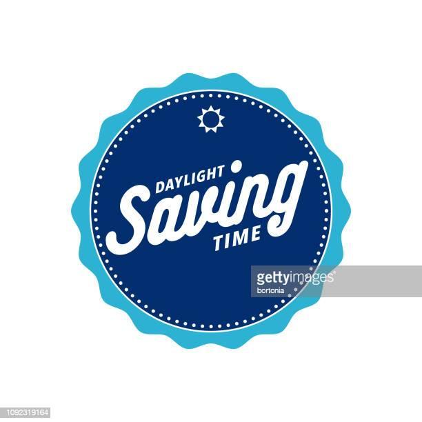 daylight saving time - daylight saving time stock illustrations