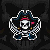 """Dead Pirate"" mascot ."