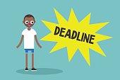 Deadline conceptual illustration.