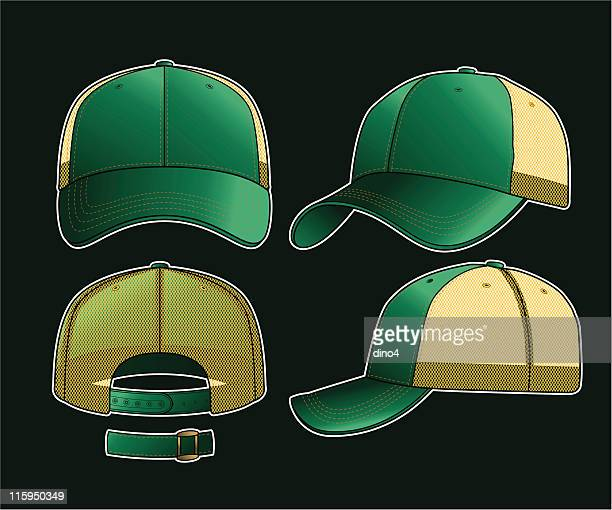 dear john trucker cap - cap hat stock illustrations, clip art, cartoons, & icons